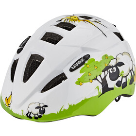 UVEX Kid 2 Cykelhjelm Børn grøn/hvid